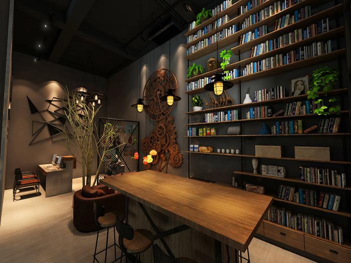 loft阁楼办公室装修设计效果图图片
