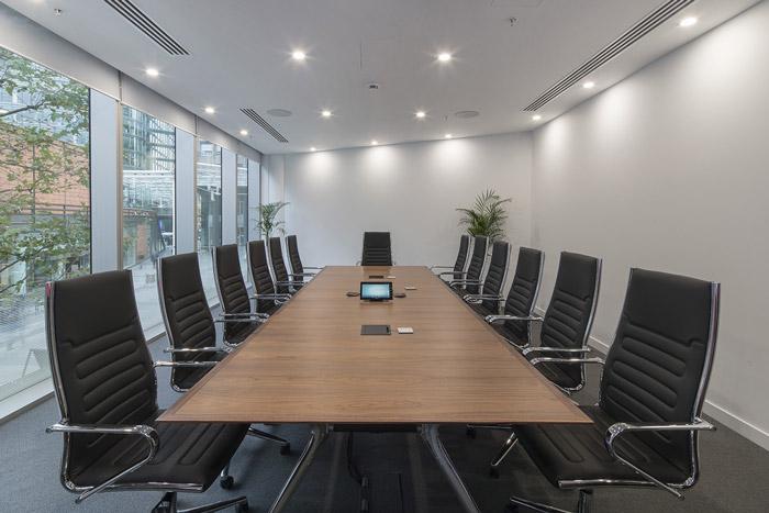 投资理财公司会议室装修设计效果图