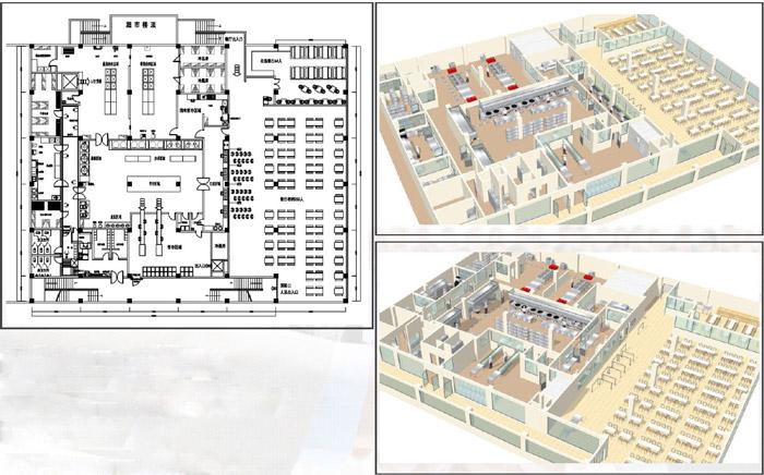 中央厨房设计方案平面图