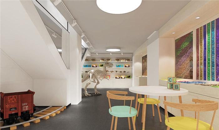 玩具公司办公室装修设计效果图