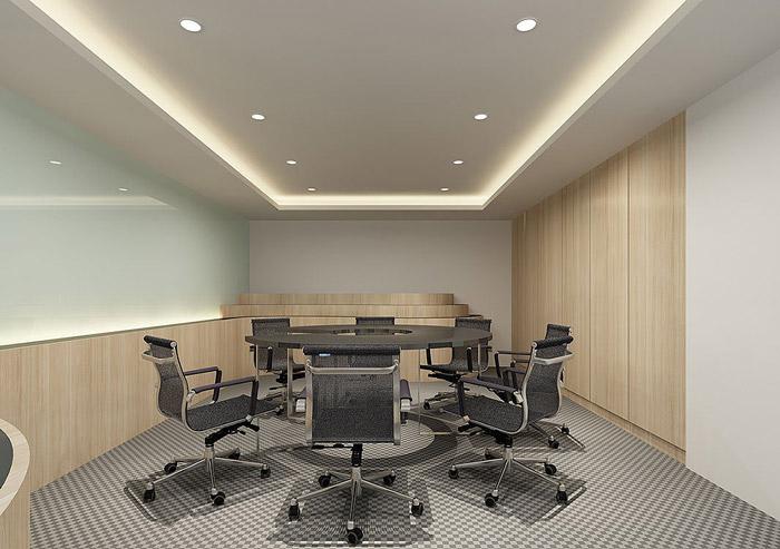 科技公司办公室装修效果图图片