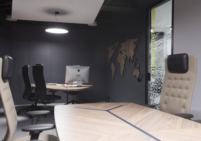 电子科技公司总经理办公室装修设计效果图