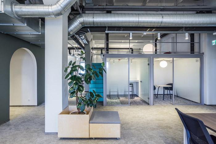 科技公司loft办公室设计方案