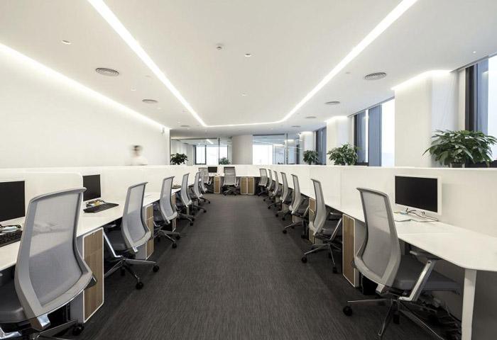 高科技公司办公室装修效果图
