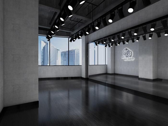 舞蹈培訓中心裝修設計效果圖