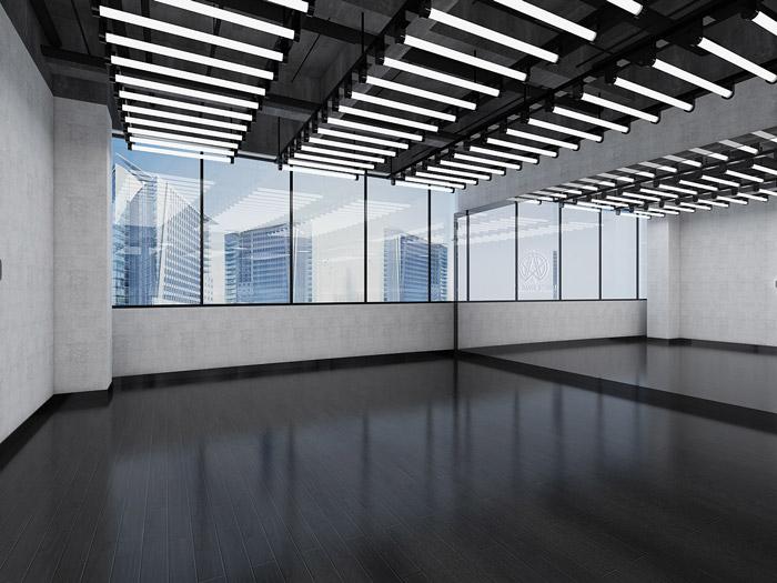 舞蹈培训中心教室装修设计效果图