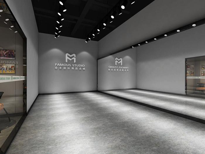 舞蹈培训室装修设计效果图