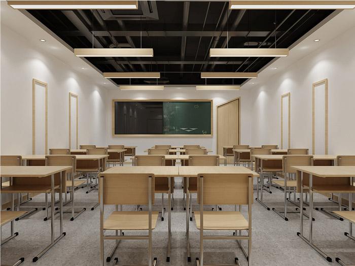 培训机构教室装修设计效果图