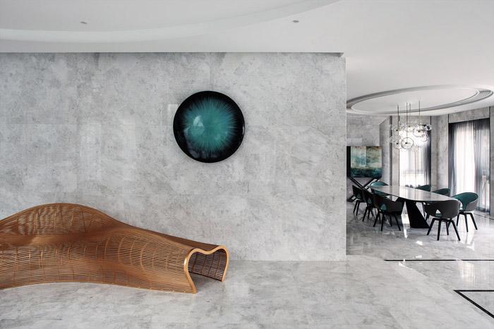 福州别墅中厅装修设计效果图
