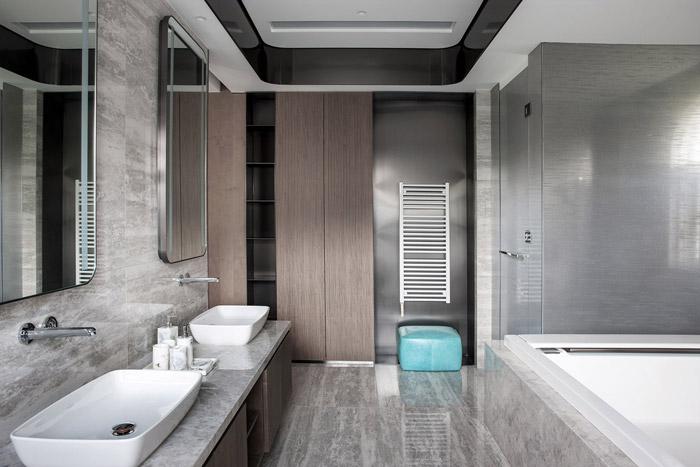 福州别墅浴室装修设计效果图