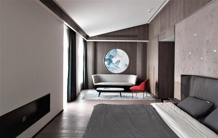 福州别墅卧室装修设计效果图