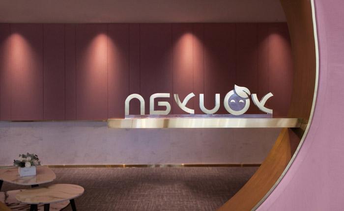 化妝品公司辦公室裝修設計效果圖
