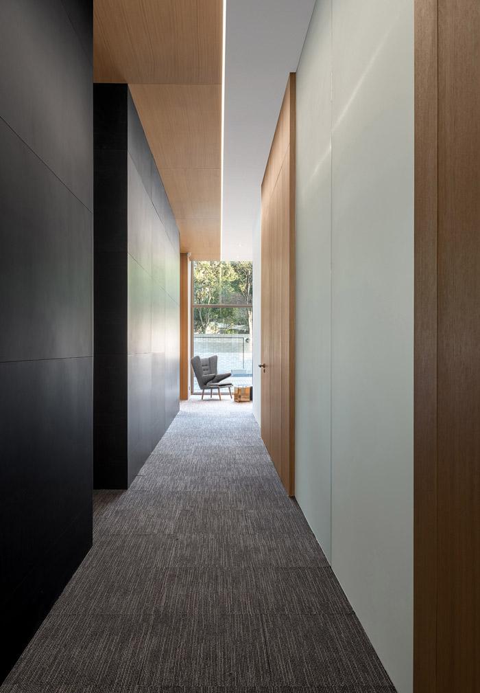 家居公司办公室过道装修设计方案