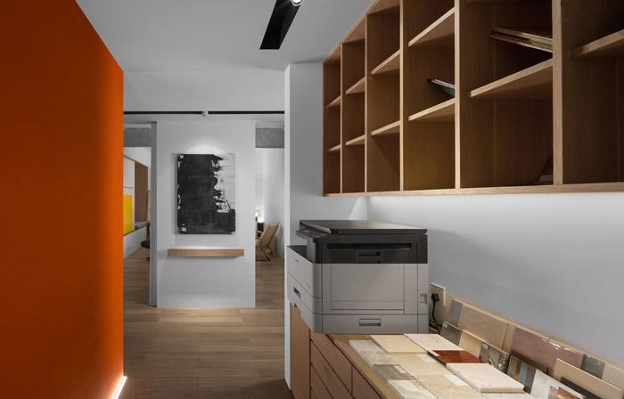 家庭式办公室装修设计效果图