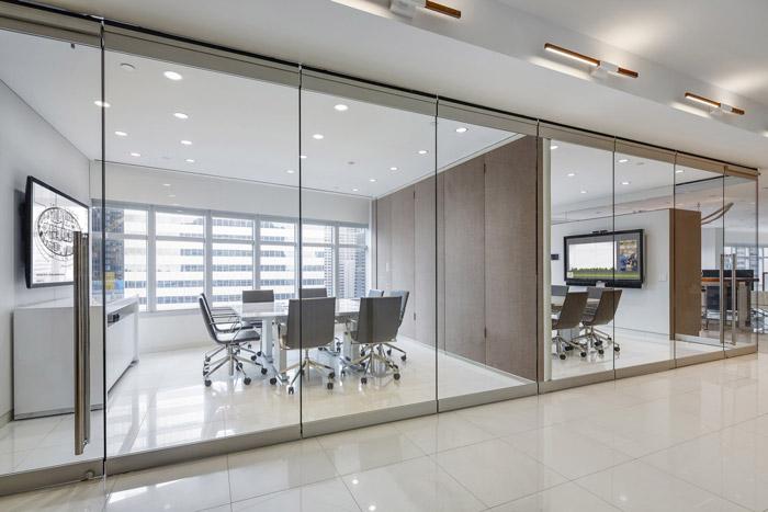 服务式办公室装修设计效果图