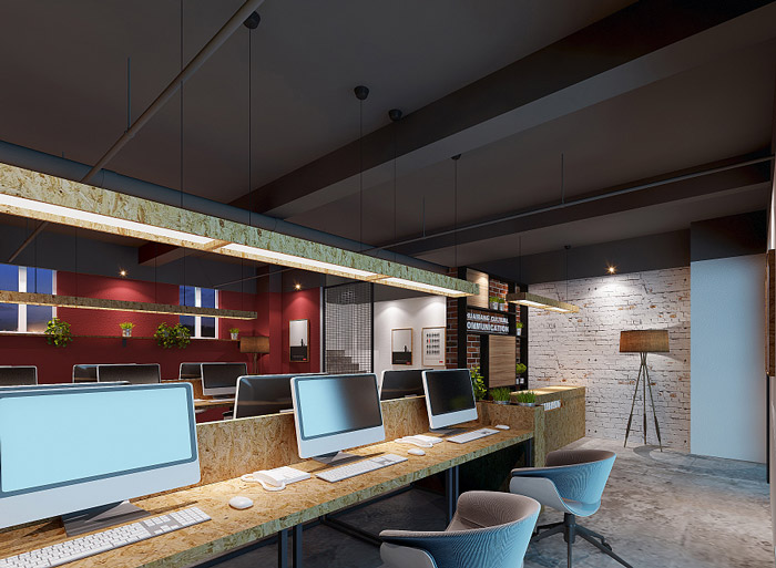 公寓办公室装修设计效果图