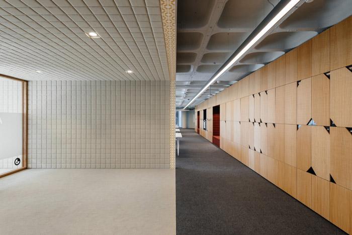 集团公司办公室入口装修设计方案