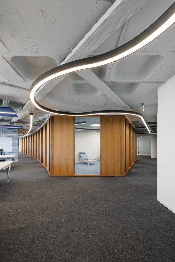 集团公司办公室过道装修设计方案
