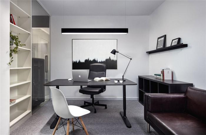 78平方小户型办公室装修设计效果图