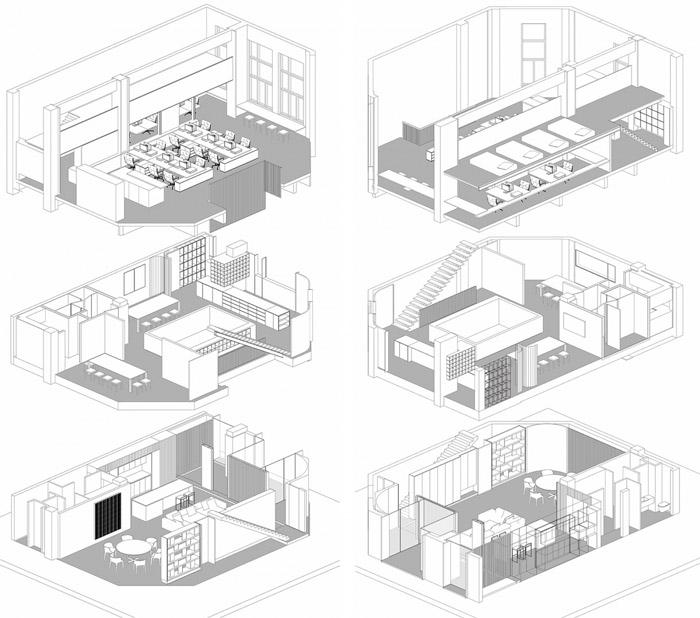 顾问公司办公室装修设计效果图_岚禾工装设计