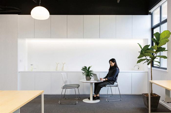 电商办公室茶水间装修设计效果图