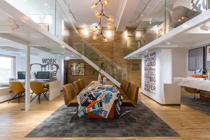 loft风格办公室装修效果图图片