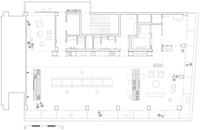 300平方辦公室裝修效果圖