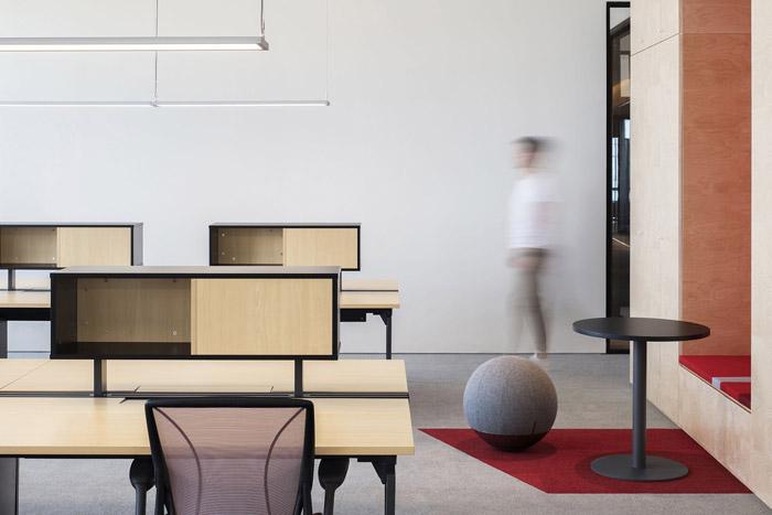 集团办公室办公区设计效果图