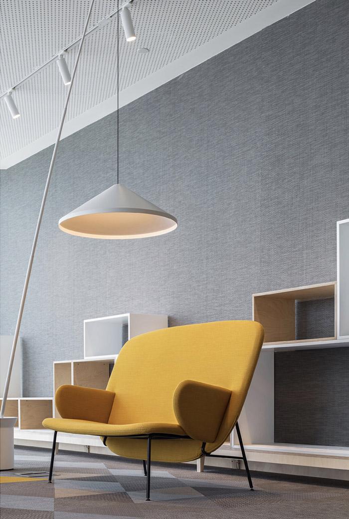 集团办公室休息区设计效果图