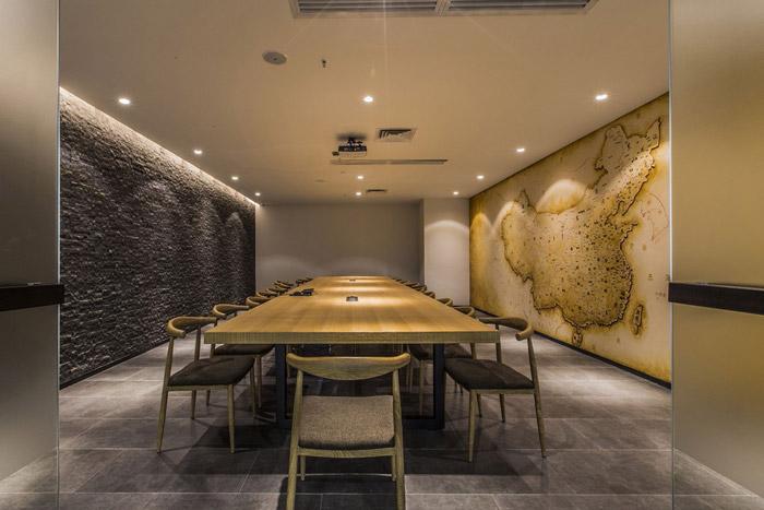 东方禅意办公室会议室装修设计效果图