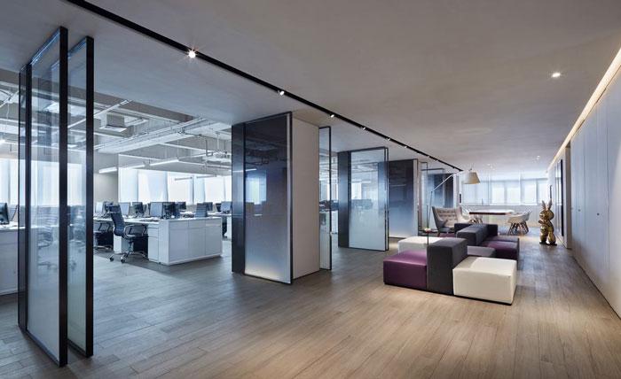 企业办公室设计装修效果图