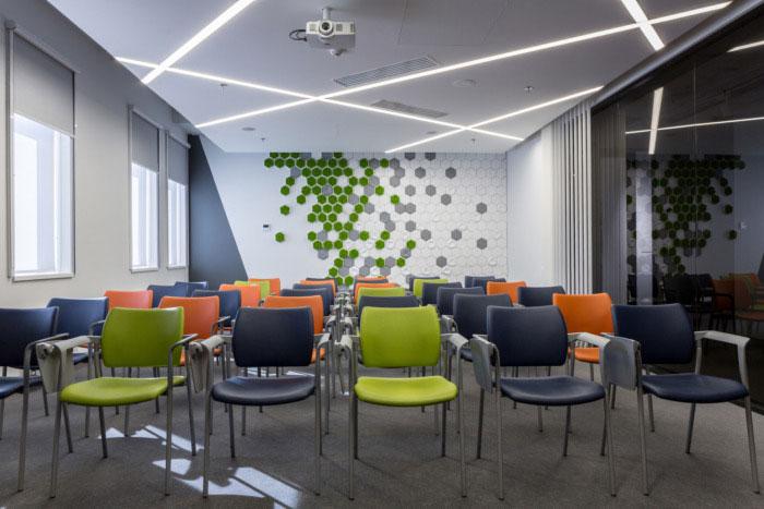 纳维亚风格办公室培训室装修设计效果图