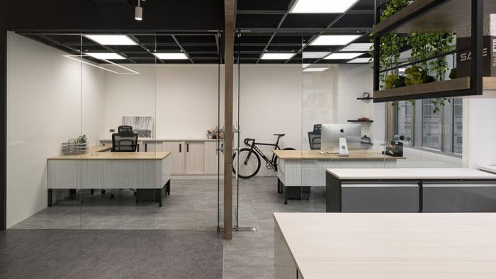 鞋业公司总经理办公室装修设计效果图