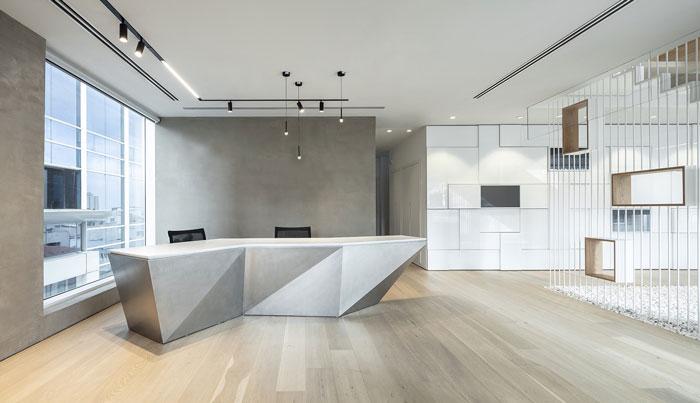 新总部办公室装修设计效果图