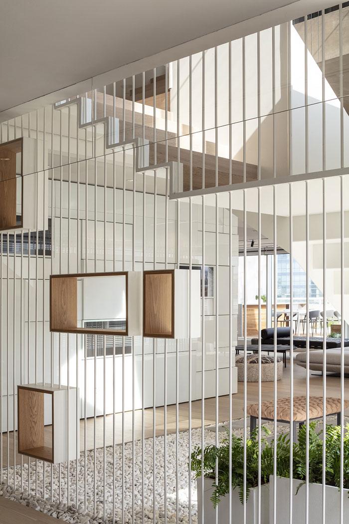 新总部办公室接待区装修设计效果图