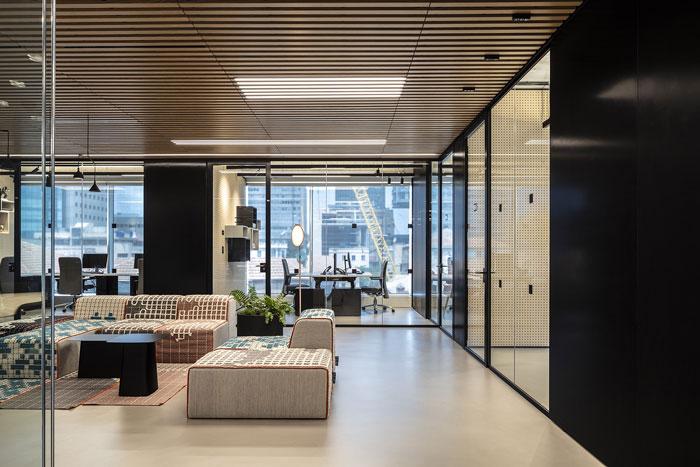 新总部办公室办公区装修设计效果图