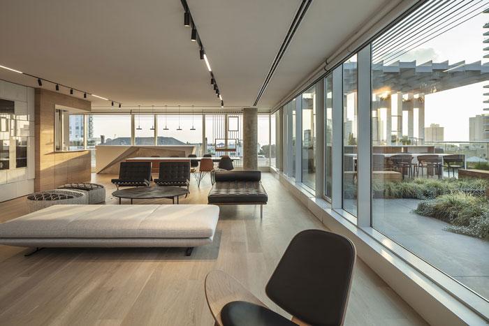 新总部办公室休息区装修设计效果图