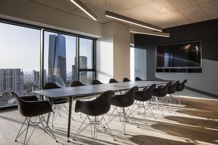 会议公司办公室会议室装修设计效果图