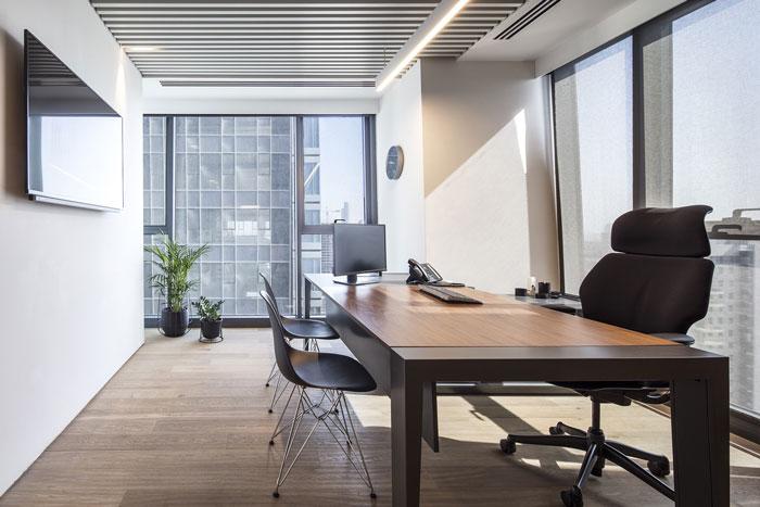 会议公司经理办公室装修设计效果图