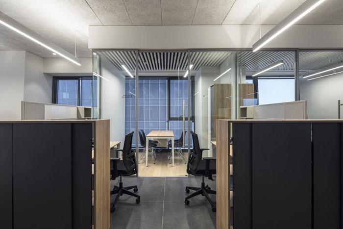 会议公司办公室办公区装修设计效果图