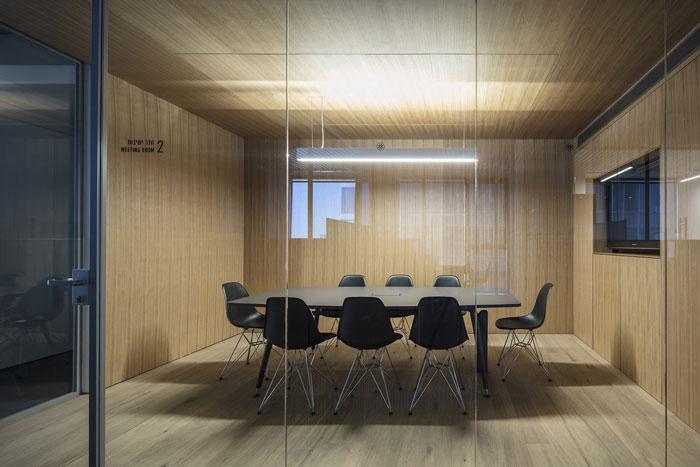 会议公司办公室洽谈室装修设计效果图