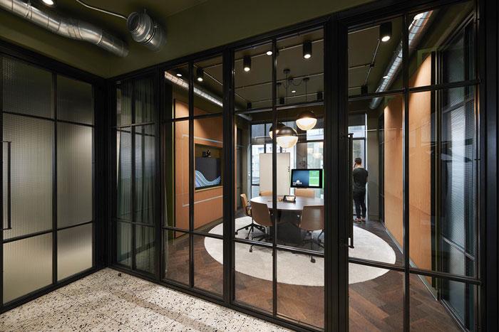 软件公司办公室接待区装修效果图