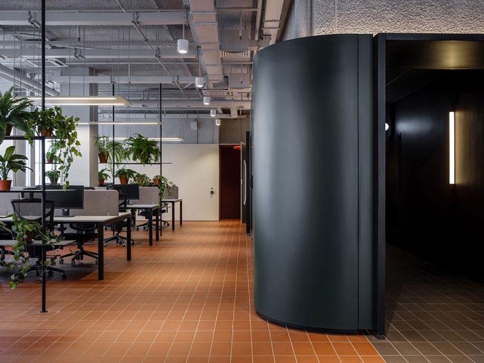 极简办公室办公区装修设计效果图