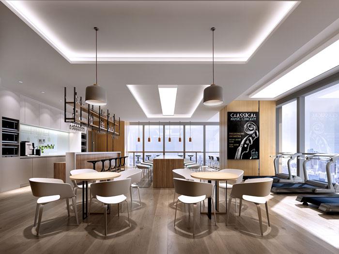杭州器材公司办公室装修设计效果图