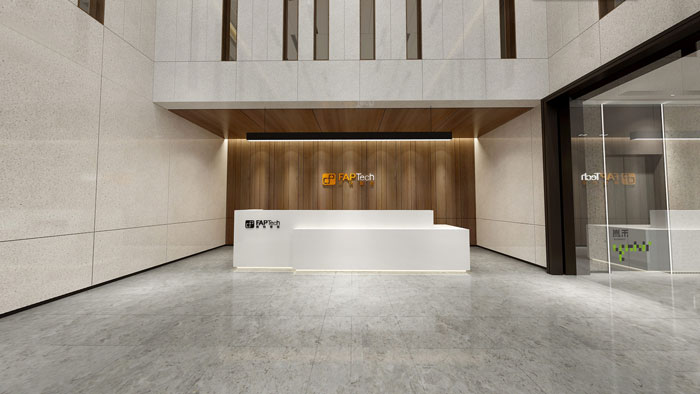 杭州智能厂房办公楼装修设计效果图