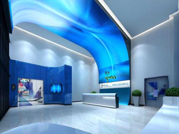 杭州厂家办公室装修设计效果图