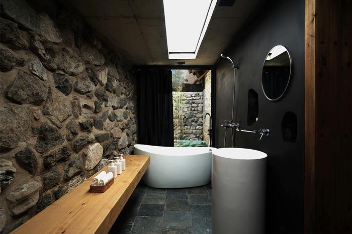 农家民宿浴室装修设计效果图