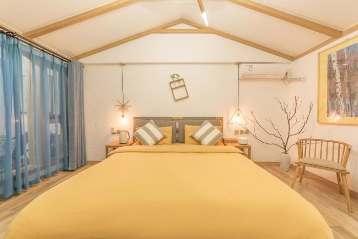 庭院民宿客房装修设计效果图