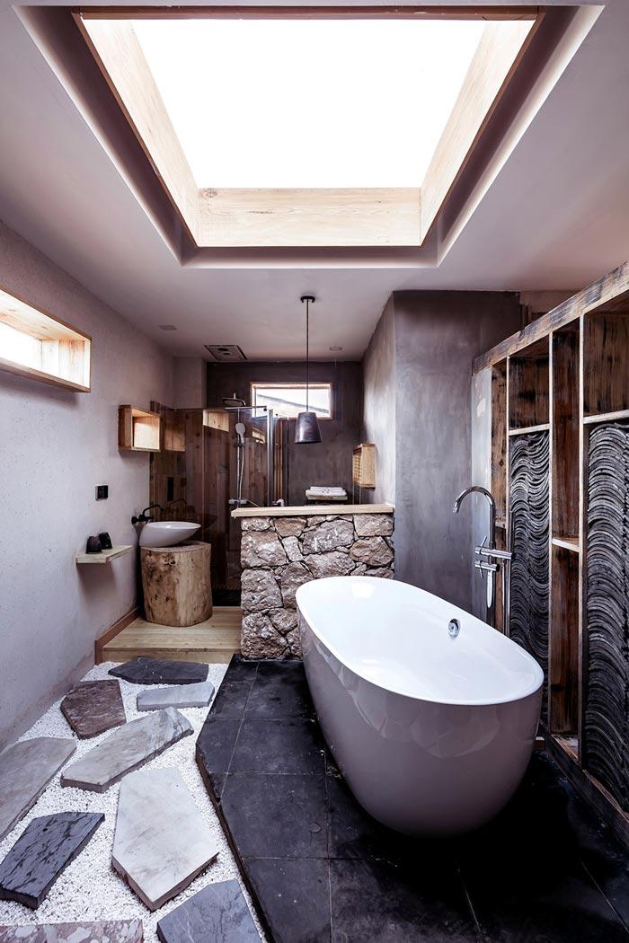 简约民宿浴室装修设计效果图