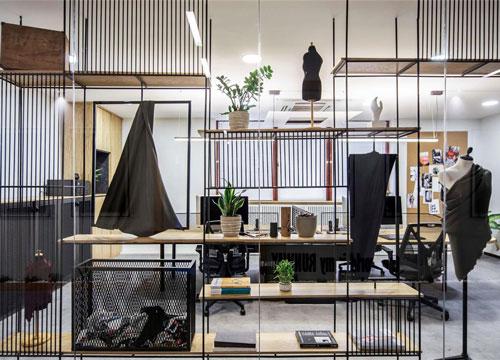 360平方办公室设计【时装公司】
